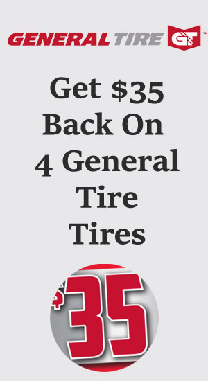 General tire sales, coupons and discount tires