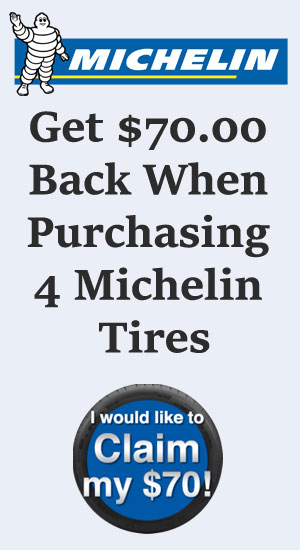Michelin tire sales, coupons and discount tires