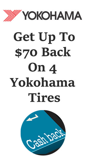 Yokohama tire sales, coupons and discount tires